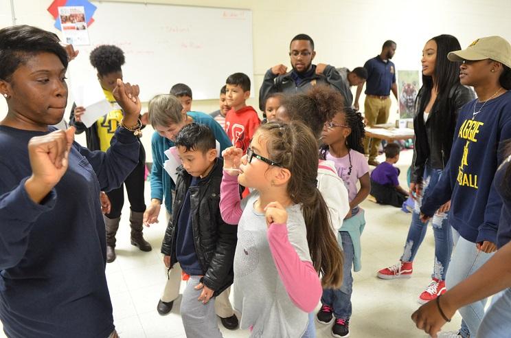 newcomers school presentation greensboro bound